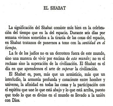 Shabat - Heschel 1 Vers. Impr.
