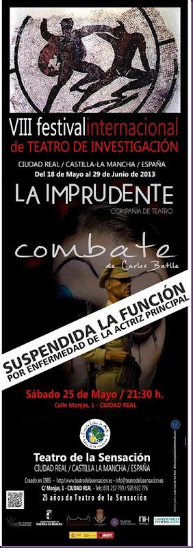 COMBATE SUSPENDIDA