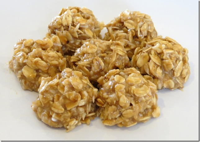 No Bake Cashew Butter Oatmeal Cookies 2
