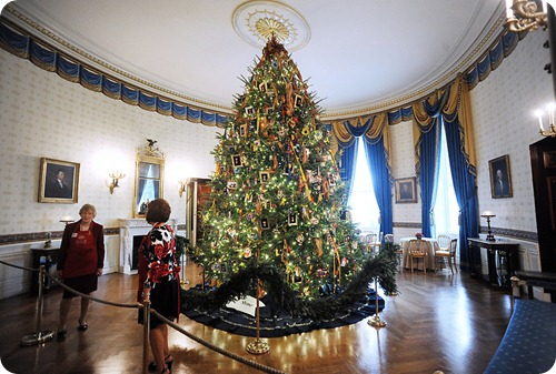White House 2011 Official Christmas Tree