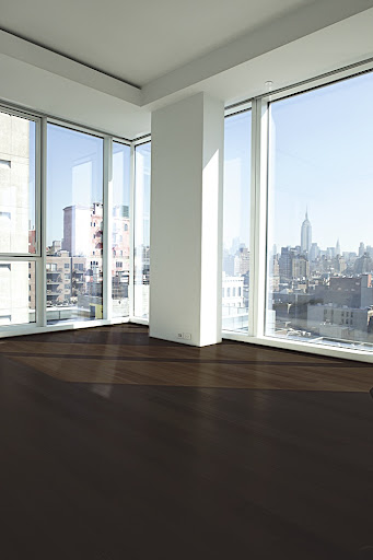 While the dark, Wenge floors look chic and modern, they were not practical for my lifestyle.  I entertain a lot and dirt would easily show up.