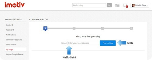 Imotiv how to add blog 2