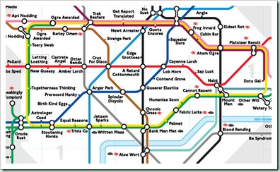 Anagram-map-London