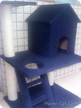 how to building cat tree - type 2 cat tree