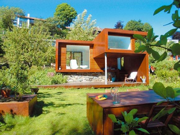 Arquitectura contemporánea para una casa de retiro