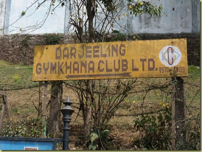 Darjeeling Sign