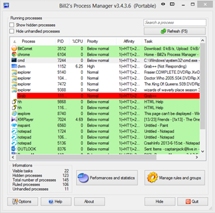Free CPU Process Manager Software