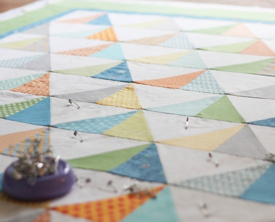 Basting To the Point Quilt