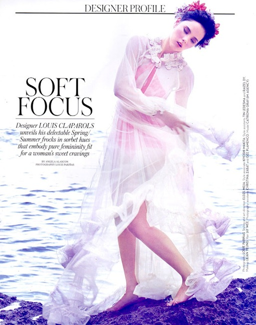Catriona Gray in Louis Claparols for Mega Magazine Designer Profile-01