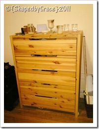 will become baby dresser