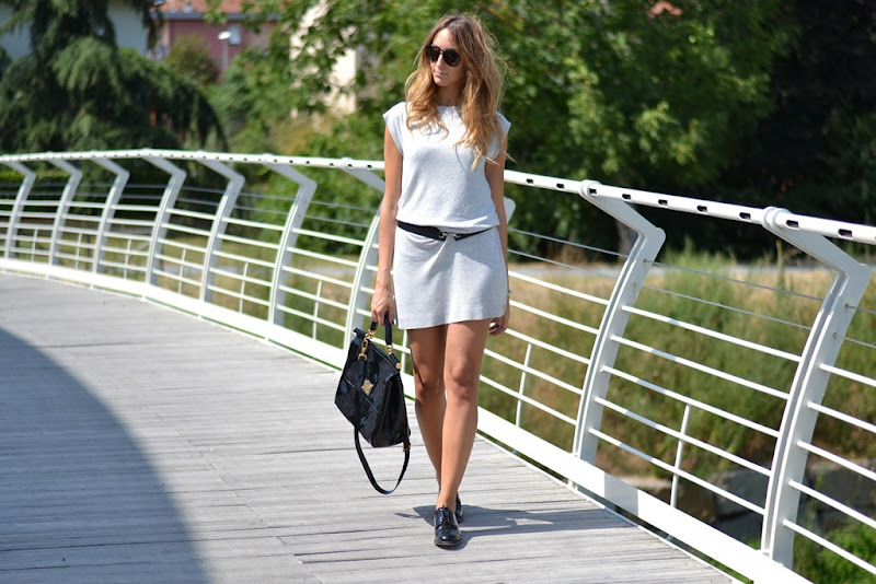 Benetton dress, Benetton, Church' s Shoes, Church's, Miss Sicily bag, Miss Sicily, Fashion Blogger, Italian Fashion Blogger, Fashion blog, Giorgio Armani, Giorgio Armani Belt, Dolce & Gabbana Bag, Dolce & Gabbana Miss Sicily Bag