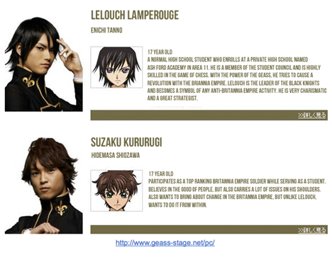 code geass play cast