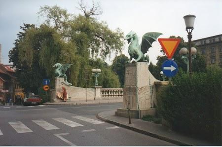 Europa Centrala: Podul cu dragoni Ljubljana