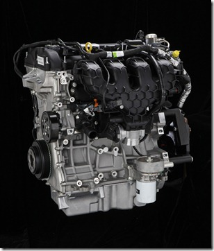 2.0 liter four-cylinder EcoBoost engine