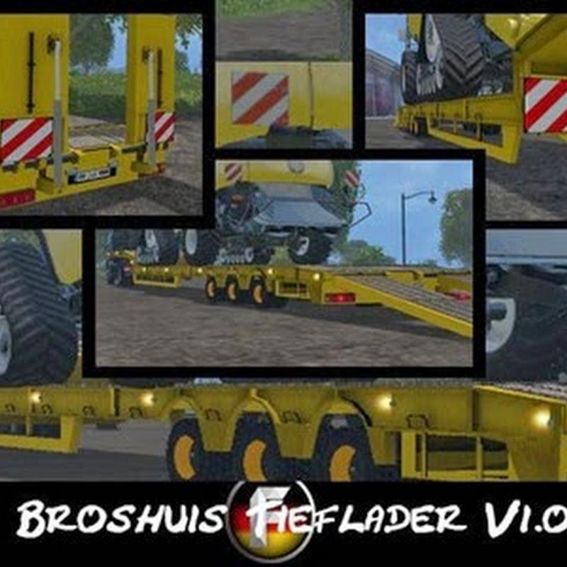 Farming simulator 2015 - Broshuis low loader v 1.2