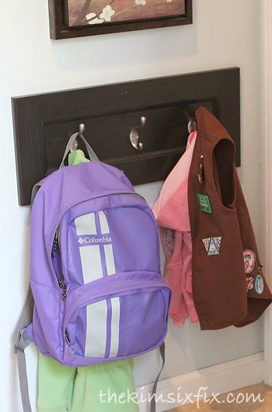 Coat Backpack Hooks