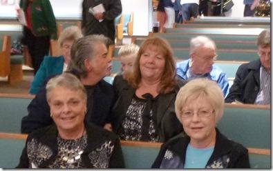 Don & Peggy, Sally & Dennis. Norm & Helen Agan, Don