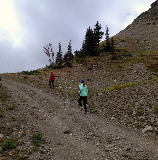 Mountain run form drills