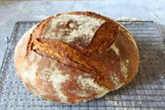Making Einkorn Bread in Tuscany