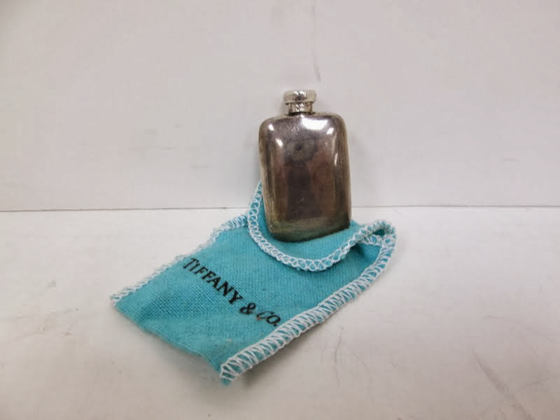 Vintage Tiffany & Co Sterling Silver Perfume Bottle Flask