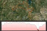 XXI Marcha de Valdemorillo 2012 ruta larga