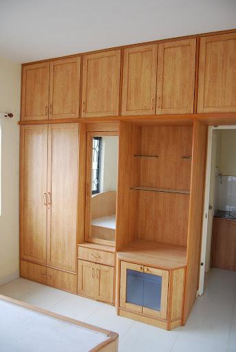 wall cupboard bedroom