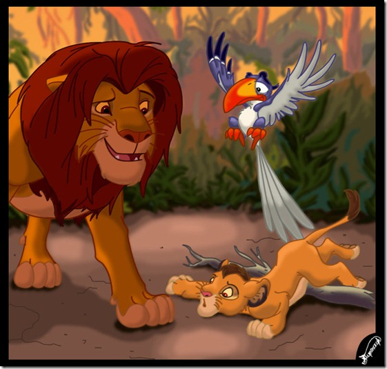 El Rey León,The Lion King,Simba (94)