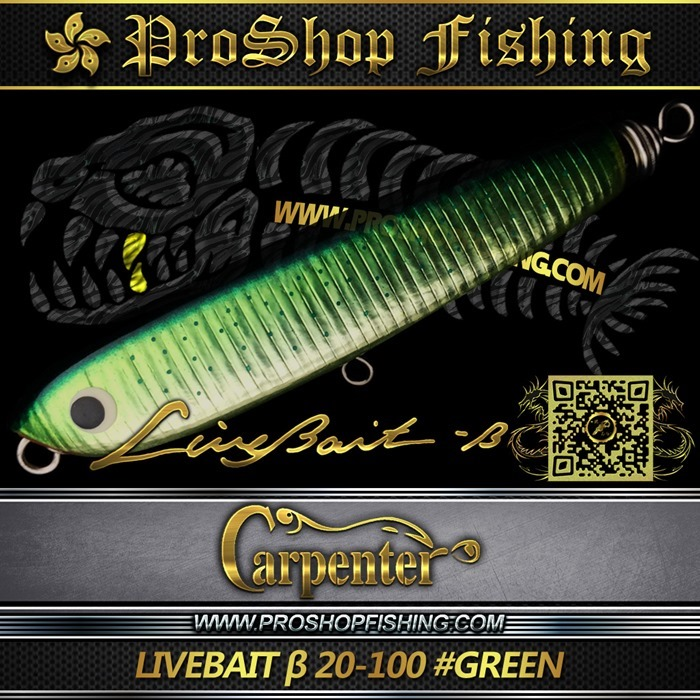 carpenter LIVEBAIT ε 20-100 #GREEN.3