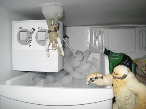 Star Wars Freezer Scene via cheezburger