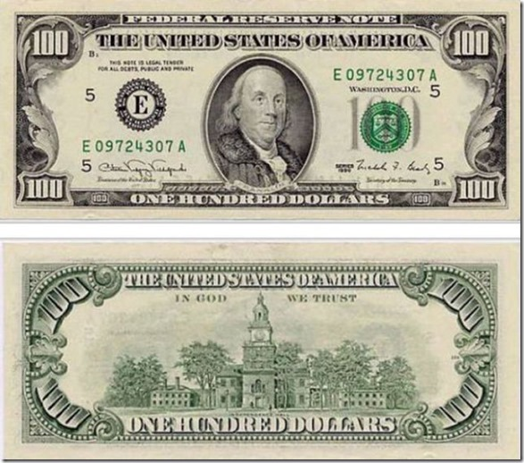 100 dolares:
