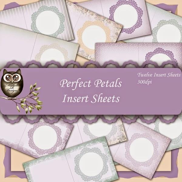 Perfect Petals Inserts Front Sheet