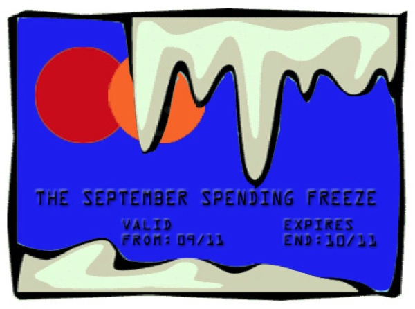 Sept Spending Freeze