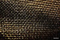 Tkanina meblowa z metalicznym efektem. Brązowa, złota.