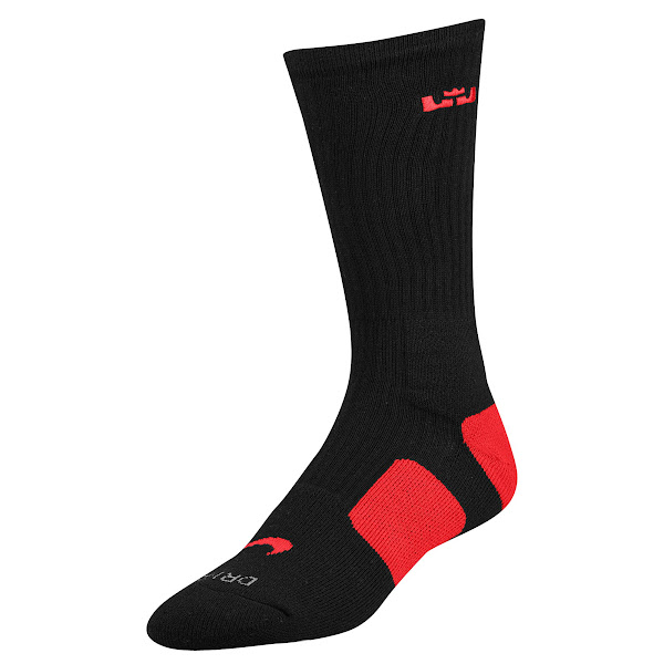 New Nike LeBron Elite Basketball Socks Available at Eastbay