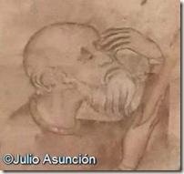 Curación de los ojos de Longinos - Museo de Navarra