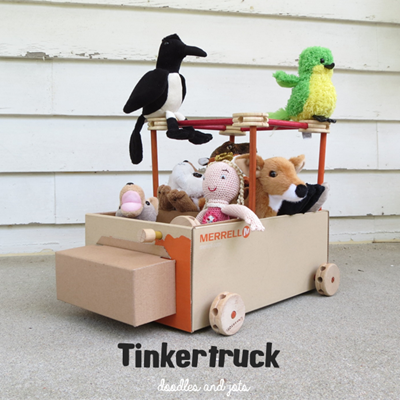 Easy-to-make-toy-truck