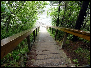 40 - Quoddy Head SP - Steps to the beach