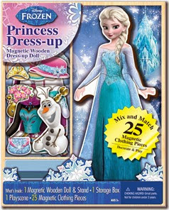 Frozen Magnetic Dress up