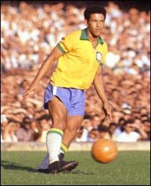 Garrincha on the field