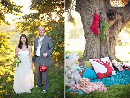 Semplicemente Perfetto Christmas Wedding Shoot 05