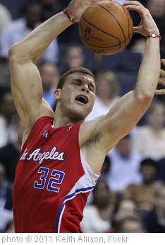 'Blake Griffin' photo (c) 2011, Keith Allison - license: http://creativecommons.org/licenses/by-sa/2.0/