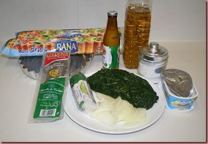 Receta Quiche Espinacas