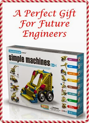 Gift for Future Engineers - Engino Simple Machines