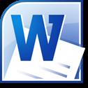 Word 2010 ícone