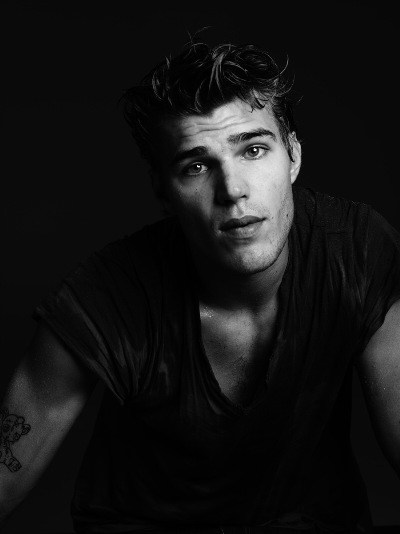 Chris Zylka by Hedi Slimane, 2011
