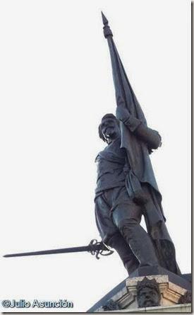 Antonio de Oquendo - Monumento en San Sebastián