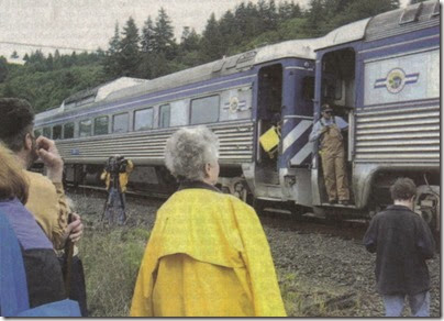 Lewis & Clark Explorer Train in Clatskanie, Oregon on May 21, 2005