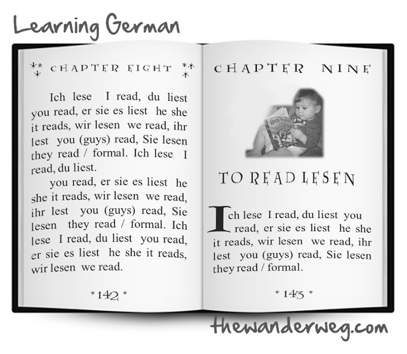 To read Lesen conjugating verbs Learning German