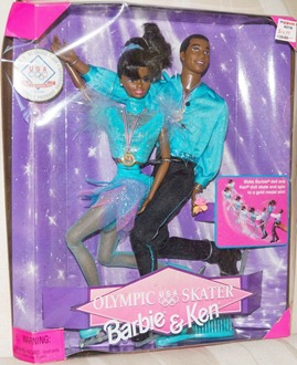 Barbie & Ken Olympic Skater 1997 African