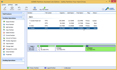 SnapCrab_AOMEI Partition Assistant Lite Edition - Safely Partition Your Hard Drives_2014-2-27_12-18-1_No-00